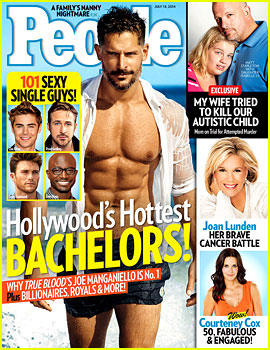 Joe Manganiello Goes Shirtless as People's Hottest Bachelor!