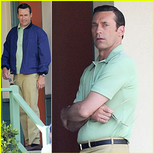 Jon Hamm Showcases His Vocals at Baseball Game - Watch Now!
