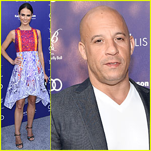 Jordana Brewster & Vin Diesel Take 'Fast & Furious' Break For Chrysalis Butterfly Ball!