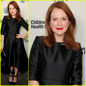 Julianne Moore Goes Ultra-Glam for Children's Health Fund Gala