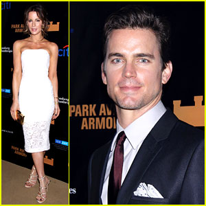Kate Beckinsale & Matt Bomer Check Out the Hottest Ticket in Town: 'Macbeth'!