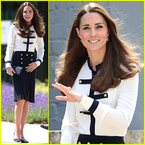 Kate Middleton Steps Out Solo for Bletchley Park 'Spy School' Visit!