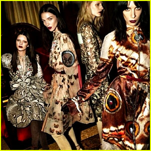 Kendall Jenner Goes Unrecognizable for Givenchy Campaign