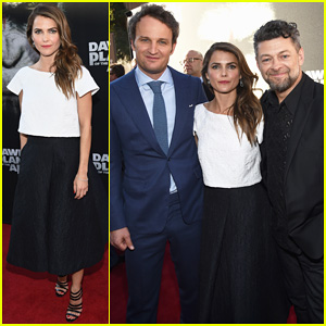 Keri Russell Gets Glam for 'Dawn Of The Planet Of The Apes' San Francisco Premiere!