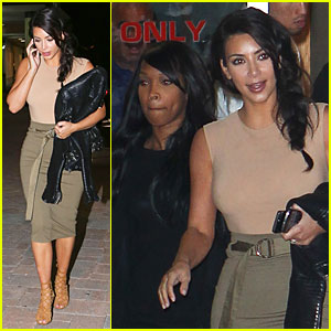 Kim Kardashian Watches Sad Love Story 'Fault in Our Stars' in Movie Theater!
