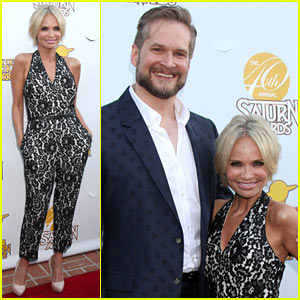 Kristin Chenoweth Presents 'Genius' 'Pushing Daisies' Creator Bryan Fuller with Saturn Award!