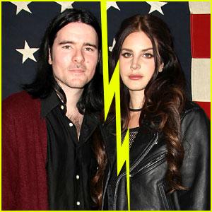 Lana Del Rey & Barrie-James O'Neill Split