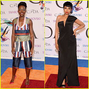 Lupita Nyong'o & Jennifer Hudson Are Stylish Oscars Winners at CFDA Fashion Awards 2014