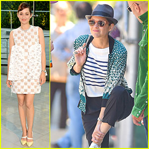 Marion Cotillard Makes Graceful CFDA Awards 2014 Entrance Despite Hurting Ankle!