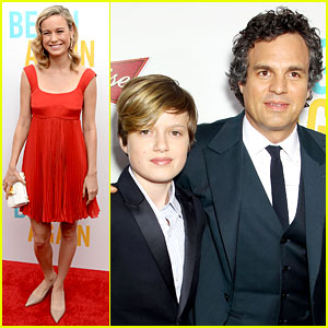 Mark Ruffalo Brings Son Keen to the 'Begin Again' NYC Premiere