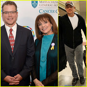 Matt Damon & Valerie Harper Honor Heroes Who Lead the Fight Against Cancer