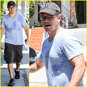 Matt Damon's Cousin is Training BFF Ben Affleck for 'Batman vs. Superman: Dawn of Justice'!