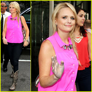Miranda Lambert's Fitness Inspiration is Britney Spears!