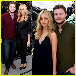 Nicola Peltz & Jack Reynor Tour the Country for 'Transformers'!