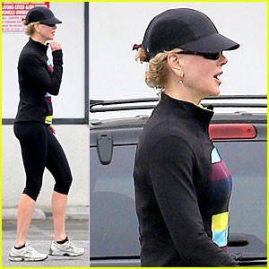 Nicole Kidman's SoulCycle Workouts Are Really Toning Her Calves!