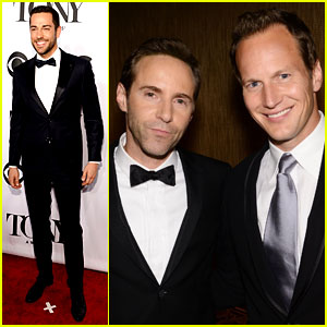 Patrick Wilson & Zachary Levi Suit Up to Present at Tony Awards 2014!