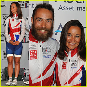 Pippa Middleton & Brother James Complete Race Across America in Maryland!