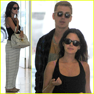 Rachel Bilson & Hayden Christensen Couple Up for Routine Baby Check-Up!