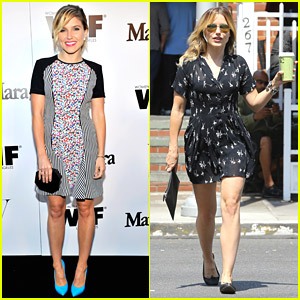 Sophia Bush Picks Up Coffee To Go After MaxMara Women in Film Event