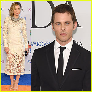 Sophia Bush & James Marsden Bring Fashion Sense to CFDA Awards 2014