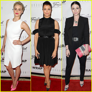 Taylor Schilling Attends TheWrap's Emmy Party Ahead of 'Orange is the New Black' Season Two Premiere!