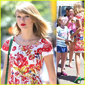 Taylor Swift Bursts With