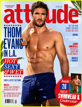 Thom Evans Wants to Play Mr. Darcy in 'Pride & Prejudice'
