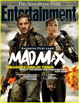 Tom Hardy & Charlize Theron Are Totally Badass for Mad Max's 'EW' Cover