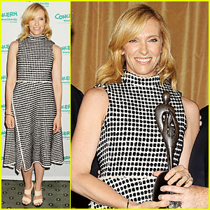 Toni Collette's Fight Against Hunger Gets Honored at Women of Concern Awards!