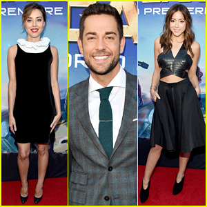 Aubrey Plaza Supports Chris Pratt at 'Guardians Of The Galaxy' Hollywood Premiere!
