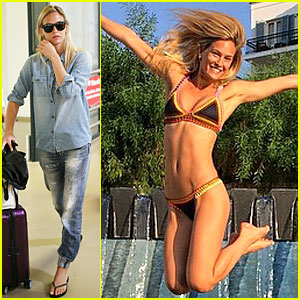 Bar Refaeli Makes a Huge Splash with Her Sexy Bikini Body!