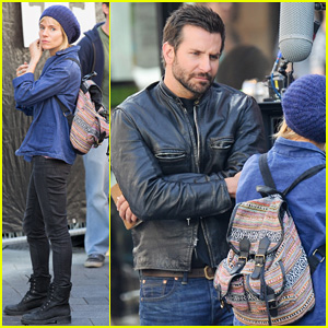 Bradley Cooper & Sienna Miller Begin Filming Their Second Movie Together, 'Adam Jones'!
