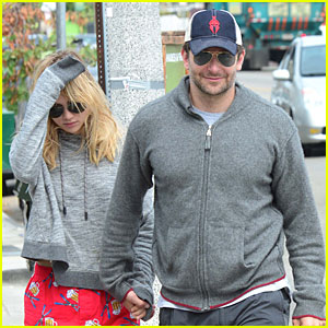 Bradley Cooper & Girlfriend Suki Waterhouse Hold Hands After Breakfast in Venice