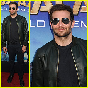Bradley Cooper Hides His Blue Eyes Under Sunglasses at 'Guardians of the Galaxy' Premiere