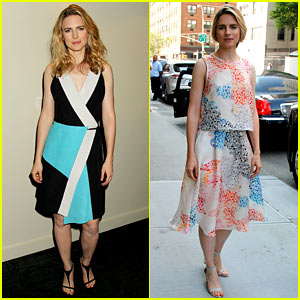 Brit Marling Turns Out the Fashion for 'I Origins' NYC Promo!