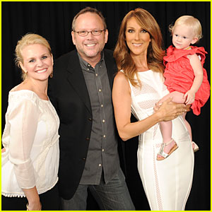 Celine Dion Meets Youtube Fan Richard Dunn on the Fourth of July!