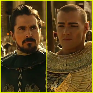 Christian Bale & Joel Edgerton Have Epic Battle in 'Exodus: Gods and Kings' Trailer - Watch Now!