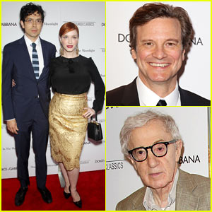 Colin Firth & Woody Allen Get Celeb Support at 'Magic in the Moonlight' Premiere!