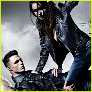 Colton Haynes is a Sexy Leather Stud for New Diesel by Nicola Formichetti Campaign