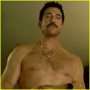Dylan McDermott & Elisabeth Shue Have the Most Awkward Sex Scene in 'Behaving Badly' (Exclusive Clip)