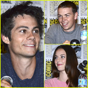 Dylan O'Brien Talks Up 'The Maze Runner' at Comic-Con!