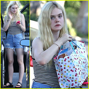Elle Fanning Nominated as Breakthrough Actress for Young Hollywood Awards 2014!