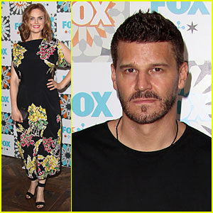 Emily Deschanel & David Boreanaz Bring 'Bones' to TCA All-Star Party