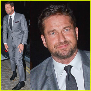 Gerard Butler Named New Face of Hugo Boss Fragrance!