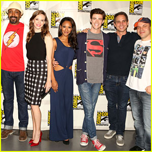 Grant Gustin Represents DC Entertainment at Comic-Con!