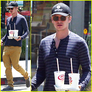 Hayden Christensen Gets Smoothies for Two - Is It Rachel Bilson's Pregnancy Craving?
