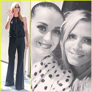 Heidi Klum Shares Cute Pic of Meeting Katy Perry at Madison Square Garden Concert
