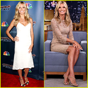 Heidi Klum Rolls on the Floor with Jimmy Fallon - Watch Now!