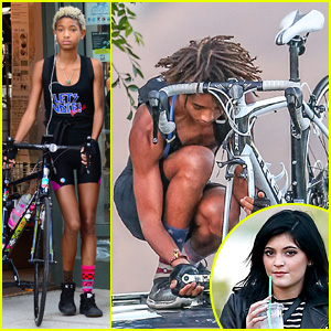 Jaden & Willow Smith are Bicoastal Biker Siblings!