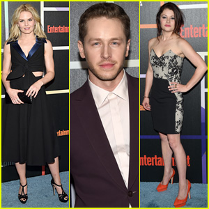 Once Upon a Time's Jennifer Morrison & Josh Dallas Hit Up EW's Annual Comic-Con Party